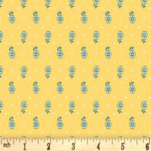 tela kingly sprig amarillo