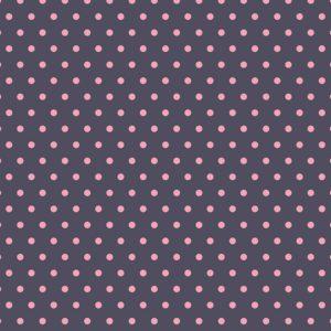 papel denim lunares rosas