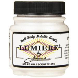 pintura lumiere blanco perlado