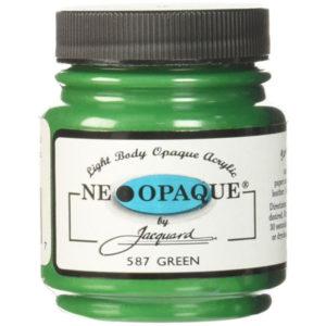 pintura neopaque verde