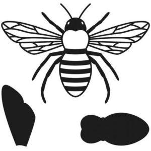 set de troqueles abeja