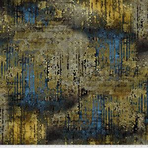 Tela Abandoned mosaico dorado