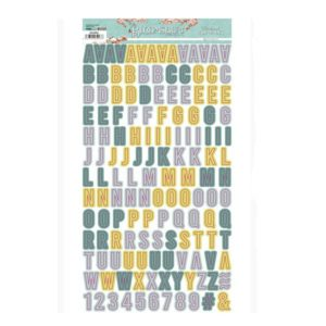 alfabeto chipboard bloomsbury