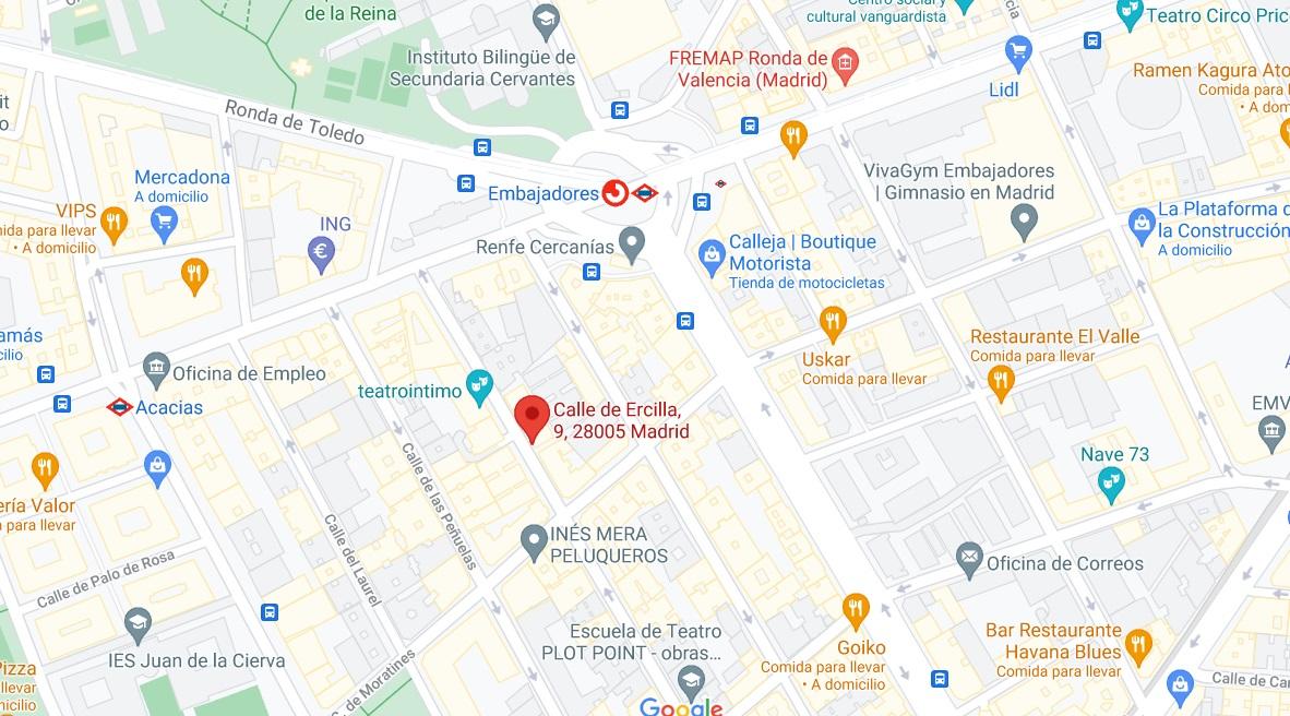 foto mapa tienda ercilla
