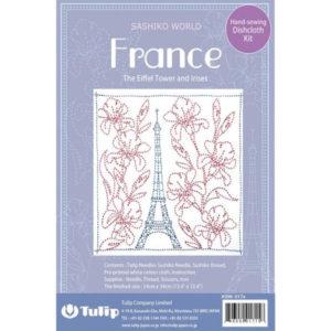 Kit de Sashiko The Eiffel Tower