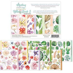 pad papeles flora book