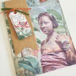 tarjetas creativas mujer