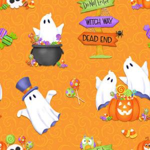 Tela fantasmas de Halloween