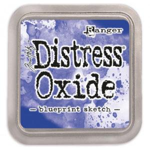 tinta distress oxide blueprint sketch