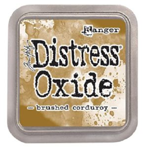 tinta distress oxide brushed corduroy