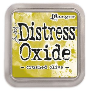 tinta distress oxide crushed olive