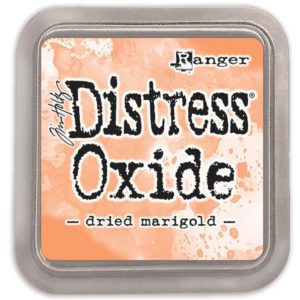 tinta distress oxide dried marigold