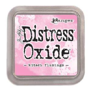 tinta distress oxide Kitsch Flamingo