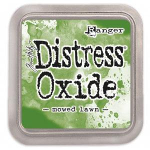 tinta distress oxide moved lawn