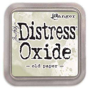 tinta distress oxide old paper