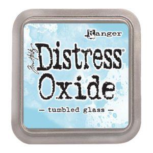 tinta distress oxide tumbled glass