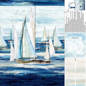 Panel Bolsa Playa Sail Away