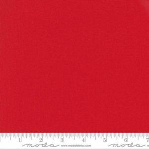 Tela Bella Solids color rojo