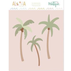 Troqueles Palmeras Aloha