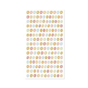 alfabeto puffy colección aloha