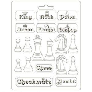 molde pvc ajedrez alice