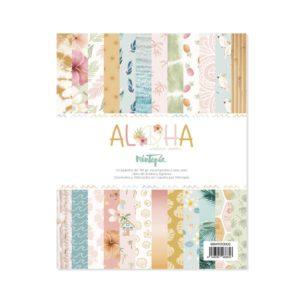 pad de papeles aloha 6x8 mintopia