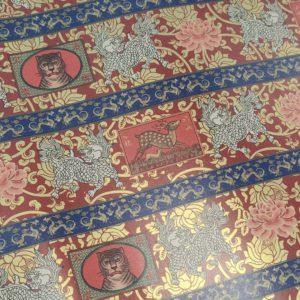 papel encuadernar estilo oriental