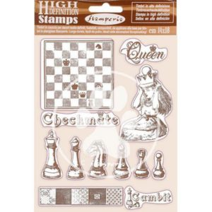 sellos de caucho ajedrez