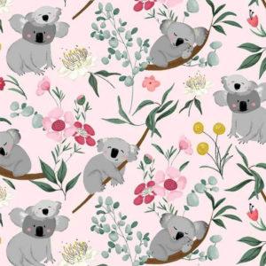 Tela Estampada Koalas