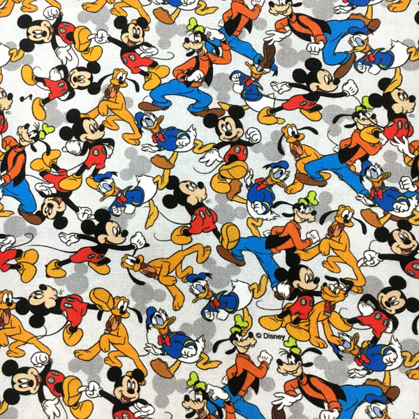Tela Mickey Mouse y amigos