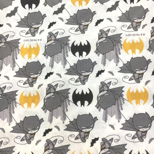 Tela Batman con fondo blanco