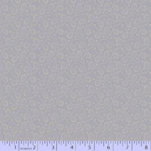 tela azul grisaceo con bucles