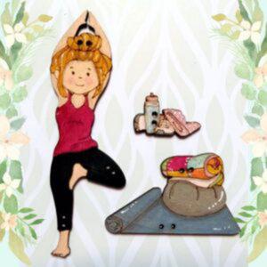 Pack Botones Yoga