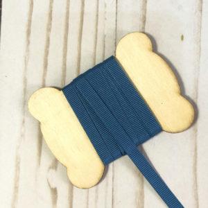 cinta gros grain azul azafata