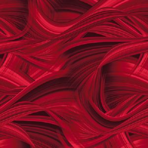 tela trasera ondas rojo
