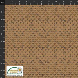 tela tejado marrón