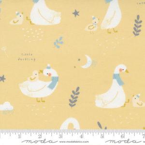 Tela Little Ducklings Amarilla
