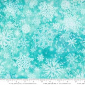 tela snowflake aqua