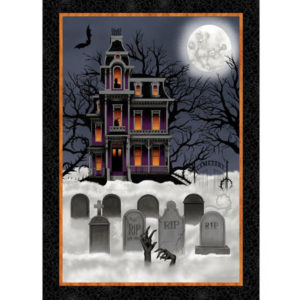 Panel Halloween Spooky Night