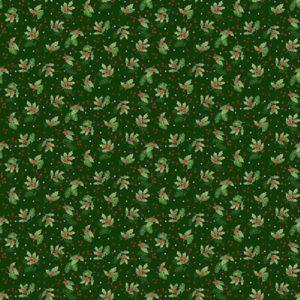 tela acebo verde classic foliage