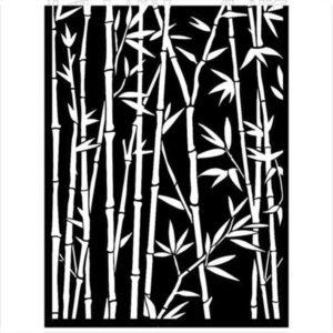 Stencil Bambú