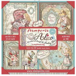 Maxi Pad Alice in Wonderland