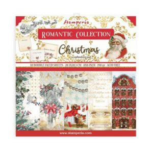 kit papeles romantic collection christmas
