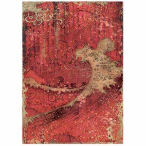 papel de arroz textura