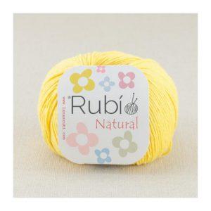 rubi natural amarillo