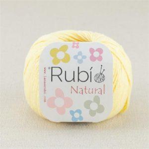 rubi natural amarillo bebe