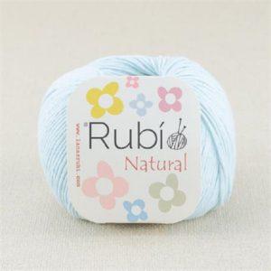 rubi natural azul bebe