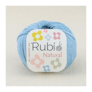 rubi natural azul grisaceo