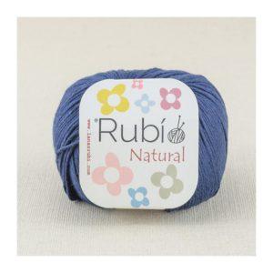 rubi natural azul marino