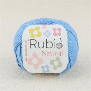 rubi natural azul plomo